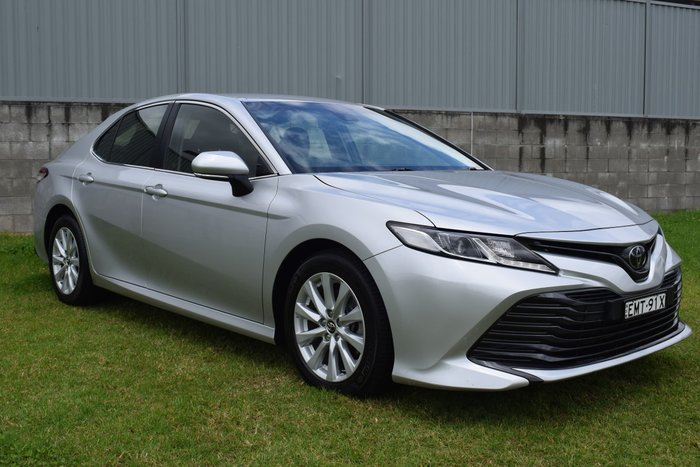 2019 Toyota Camry Ascent ASV70R Silver Pearl