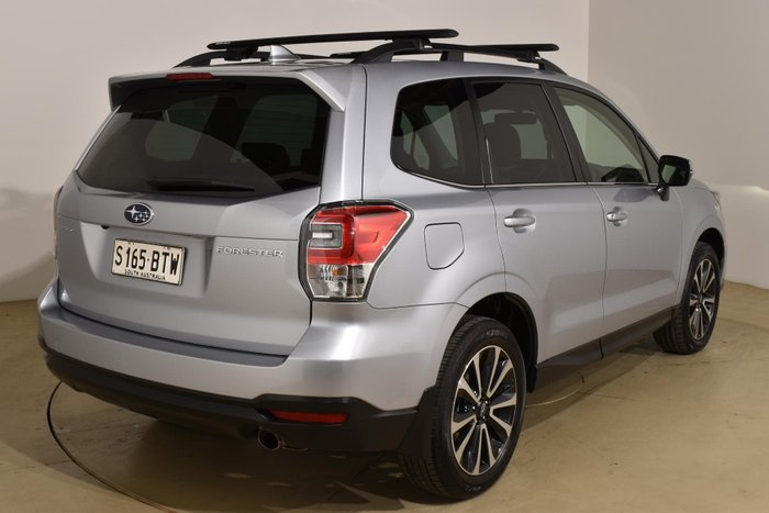 2017 Subaru Forester 2.5i-S S4 MY18 AWD Ice Silver