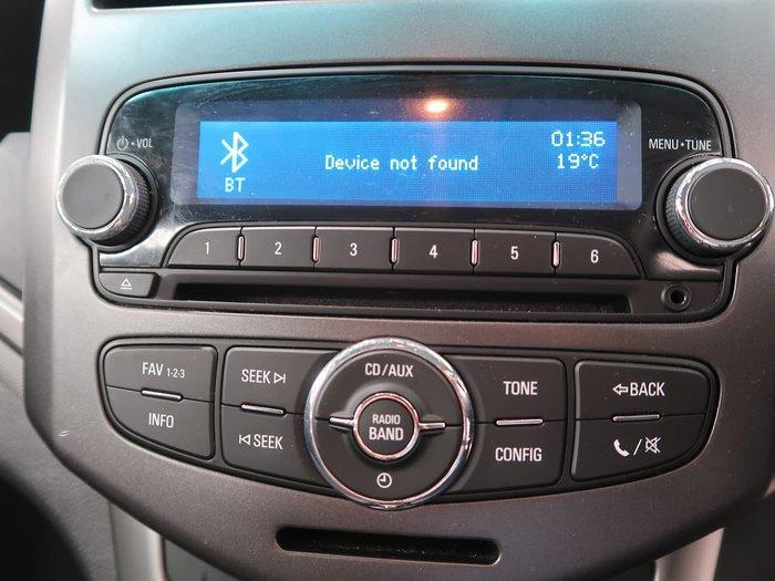 2014 Holden Barina CD TM MY14 Silver