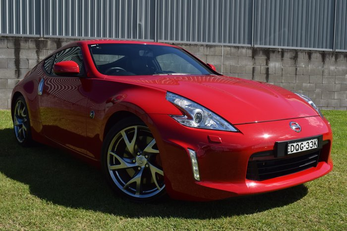 2017 Nissan 370Z Z34 MY17 Eau Rouge Red