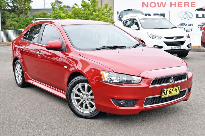 2013 Mitsubishi Lancer LX CJ MY13 Red