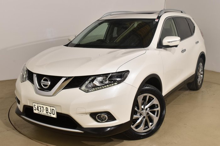 2016 Nissan X-TRAIL Ti T32 4X4 On Demand Ivory Pearl
