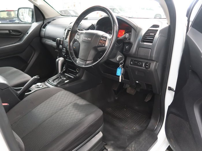 2018 Isuzu D-MAX SX MY17 4X4 Dual Range White