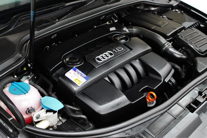 2009 Audi A3 Attraction 8P MY09 Grey