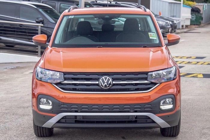 2021 Volkswagen T-Cross 85TSI Life C1 MY21 Orange