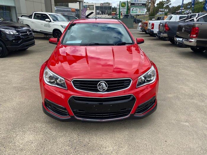 2013 Holden Ute SV6 VF MY14 Red