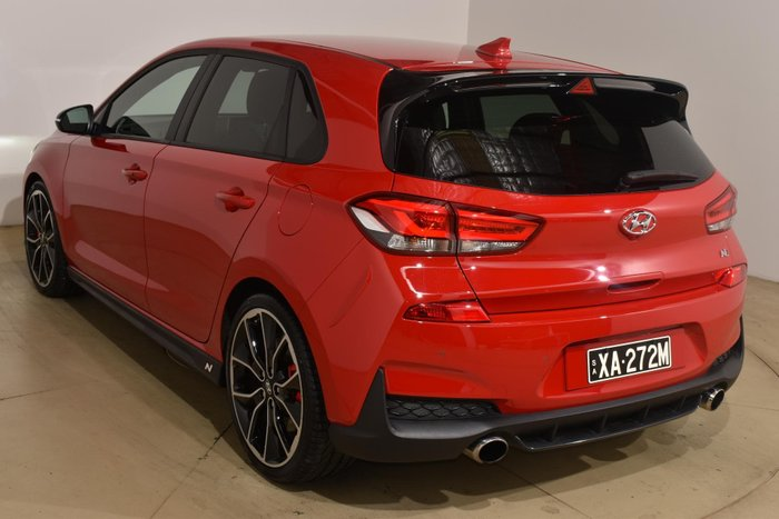 2018 Hyundai i30 N Performance PDe.2 MY18 Engine Red