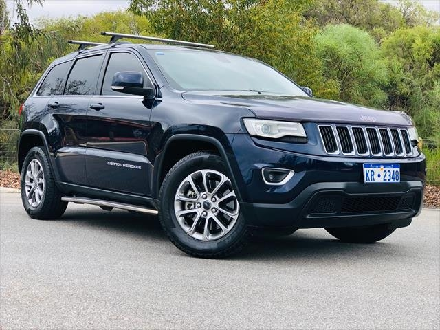 2013 Jeep Grand Cherokee Laredo WK MY14 4X4 Constant BLUE