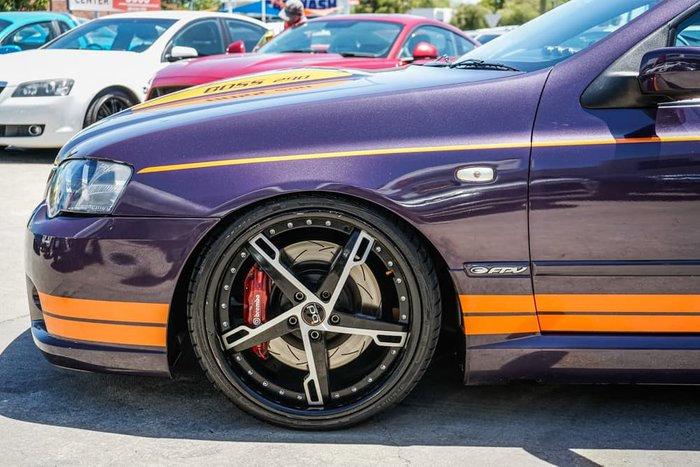 2004 Ford Performance Vehicles GT-P BA Purple