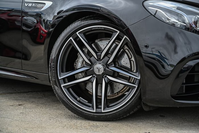 2018 Mercedes-Benz E-Class E63 AMG W213 Four Wheel Drive Obsidian Black
