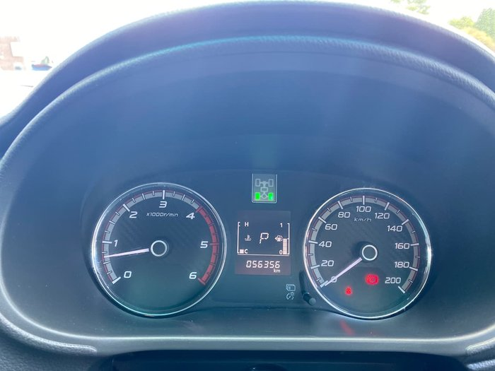 2017 Mitsubishi Triton GLS MQ MY17 4X4 Dual Range Silver