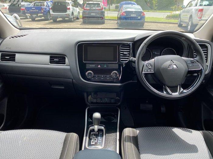 2017 Mitsubishi Outlander LS ZK MY18 4X4 On Demand White