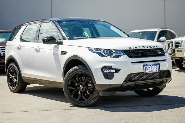 2015 Land Rover Discovery Sport SD4 HSE L550 MY16 4X4 Constant White