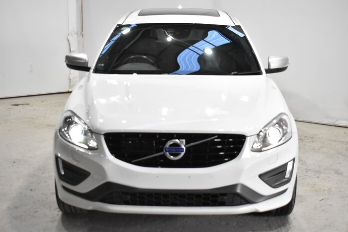 2016 Volvo XC60 D5 R-Design MY16 AWD White
