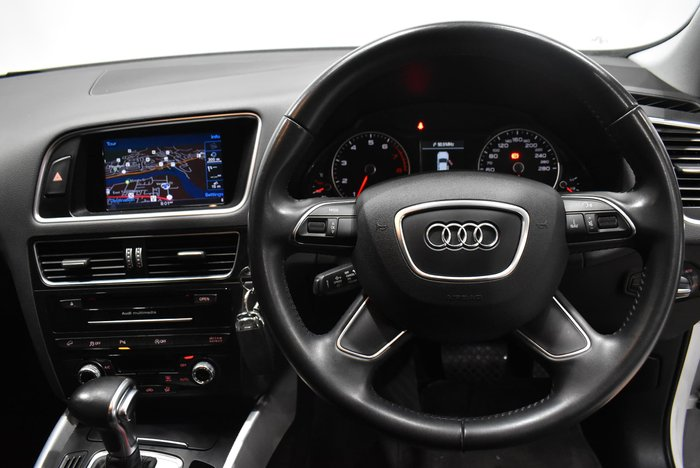 2015 Audi Q5 TFSI 8R MY15 Four Wheel Drive White
