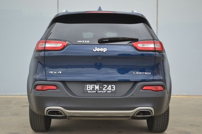 2017 Jeep Cherokee Limited KL MY18 4X4 On Demand PATRIOT BLUE