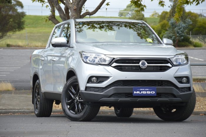 2020 SsangYong Musso Ultimate Q200 MY20.5 4X4 Dual Range FINE SILVER