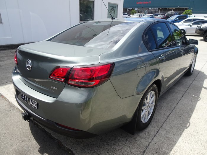 2016 Holden Commodore Evoke VF Series II MY16 Prussian Steel