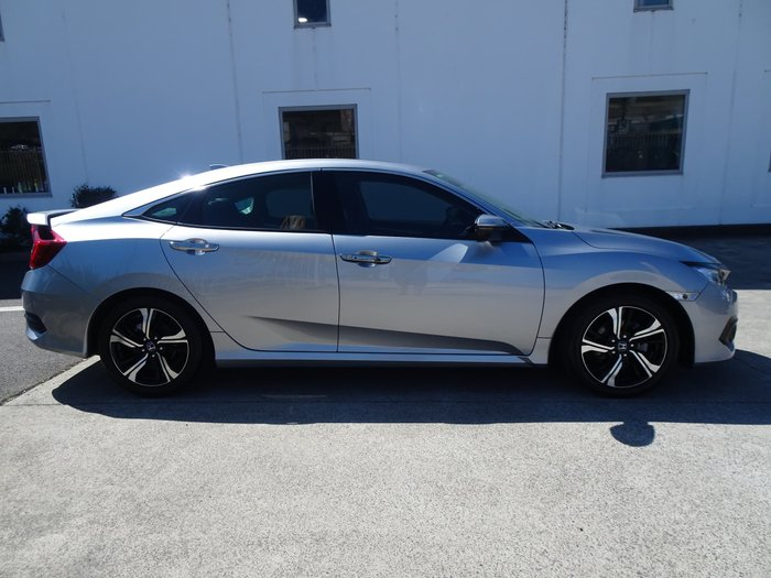 2018 Honda Civic RS 10th Gen MY18 Lunar Silver