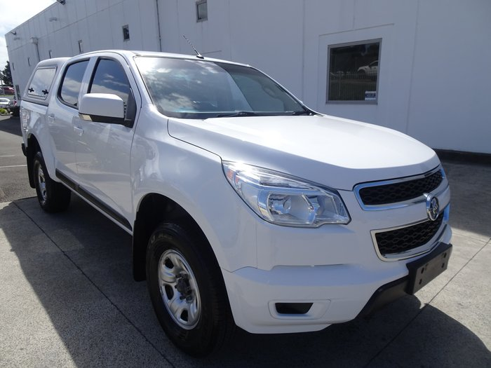 2016 Holden Colorado LS RG MY16 Summit White
