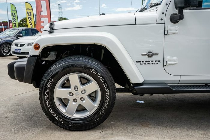 2015 Jeep Wrangler Unlimited Sport JK MY15 4X4 Dual Range Bright White