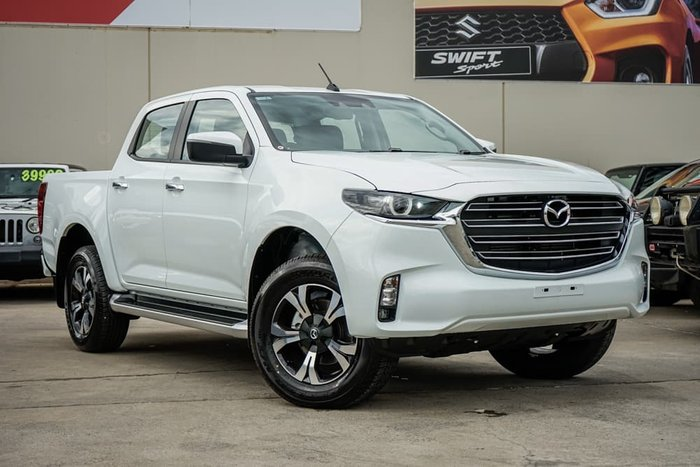 2021 Mazda BT-50 XTR TF 4X4 Dual Range Ice White