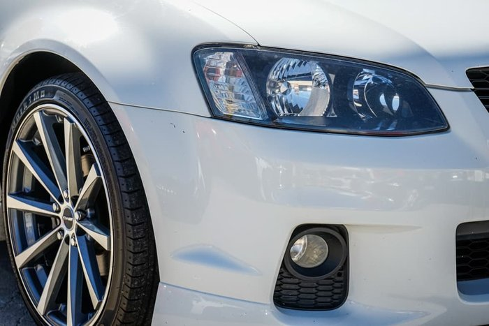 2010 Holden Commodore SV6 VE Series II Heron White