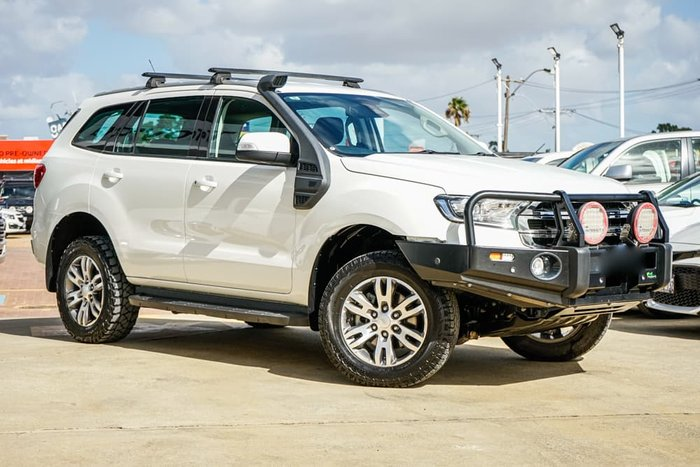 2016 Ford Everest Trend UA 4X4 Dual Range Cool White