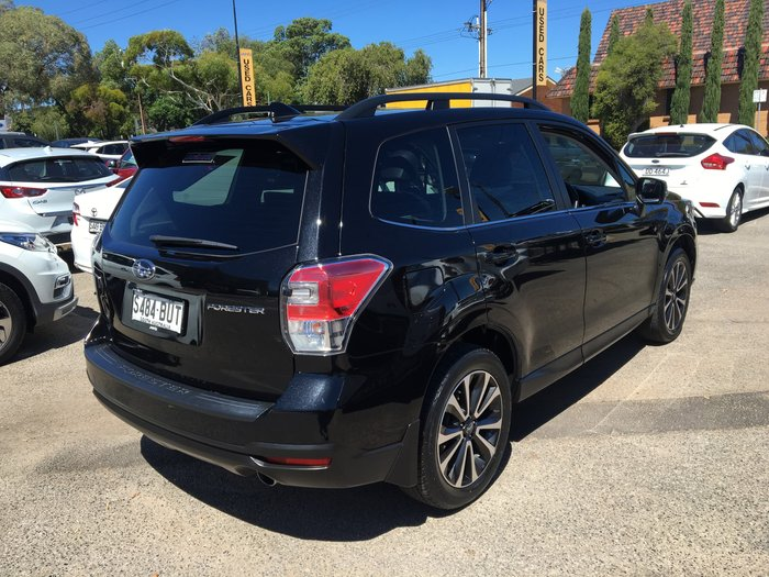2017 Subaru Forester 2.5i-S S4 MY18 AWD Crystal Black