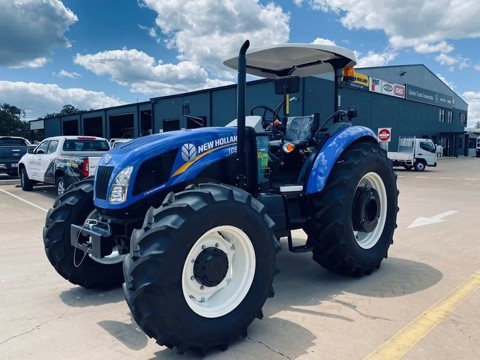2021 NEW HOLLAND TD5.90 ROPS Blue