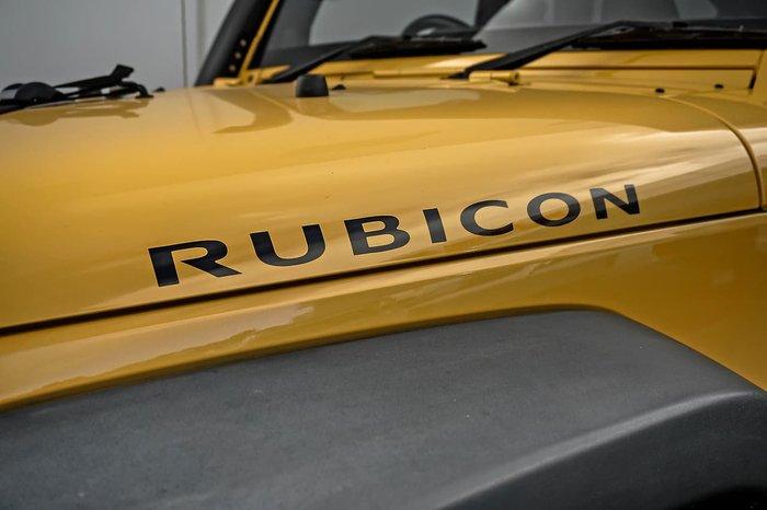 2013 Jeep Wrangler Unlimited Rubicon JK MY13 4X4 Beige