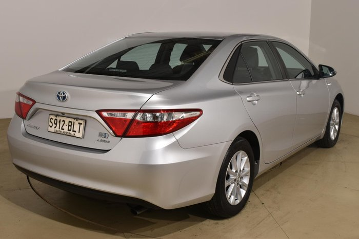 2016 Toyota Camry Altise AVV50R Silver Pearl