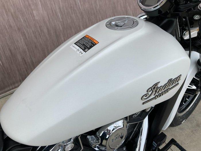 2021 Indian SCOUT WHITE SMOKE White