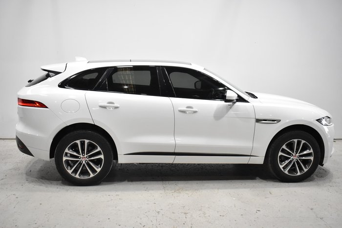 2017 Jaguar F-PACE 20d R-Sport X761 MY17 AWD Polaris White