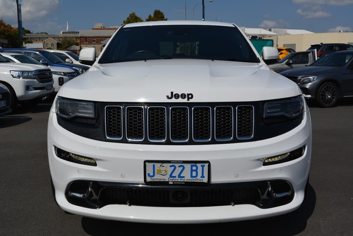 2014 Jeep Grand Cherokee SRT WK MY14 4X4 On Demand White