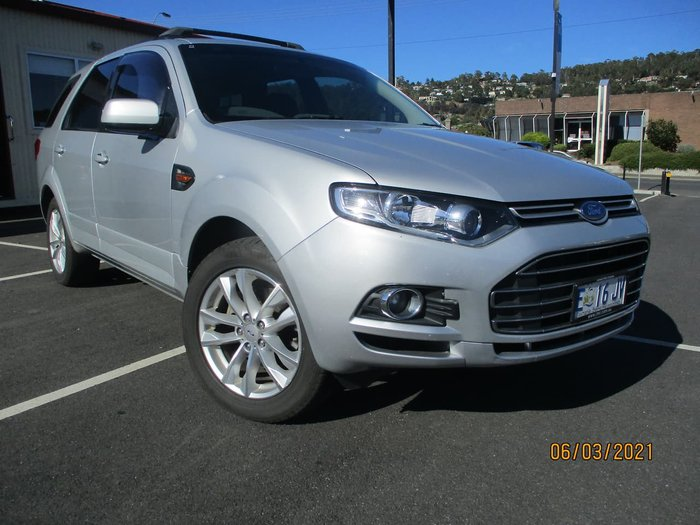 2012 Ford Territory TS SZ Silver