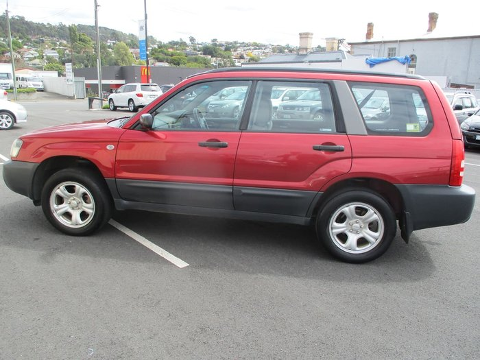 2005 Subaru Forester X 79V MY05 AWD Red