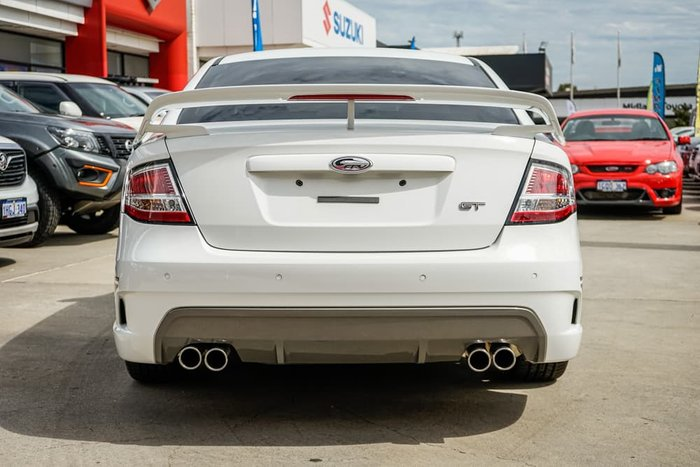 2008 Ford Performance Vehicles GT FG Winter White