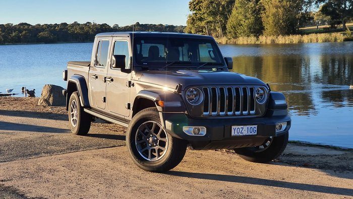 2020 Jeep Gladiator Overland JT MY21 4X4 On Demand Grey