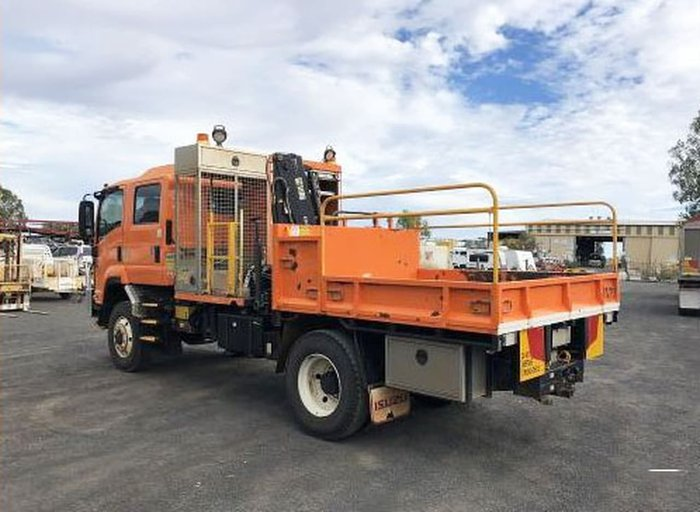 2014 ISUZU FTS800 ORANGE