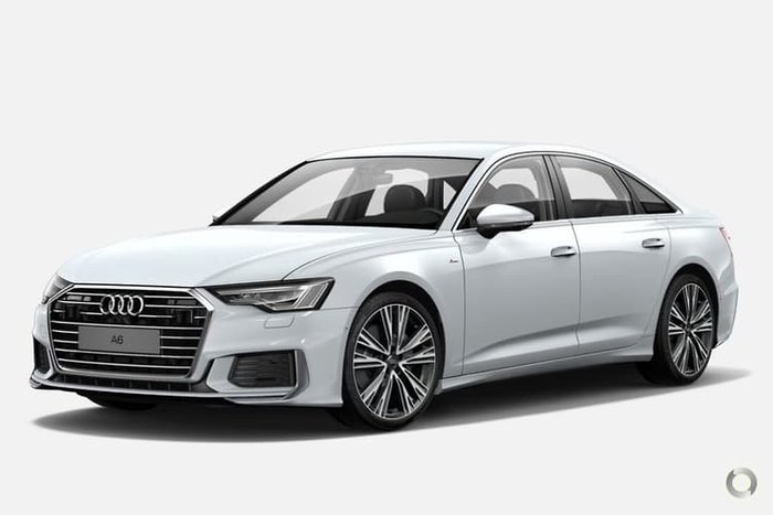2020 Audi A6 45 TFSI S line 4A MY20 4X4 On Demand Glacier White