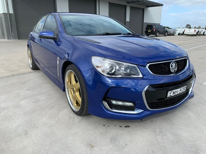 2016 Holden Commodore SS VF Series II MY16 Blue