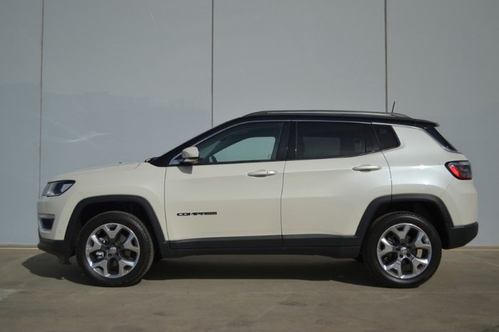 2020 Jeep Compass Limited M6 MY20 4X4 On Demand BRIGHT WHITE
