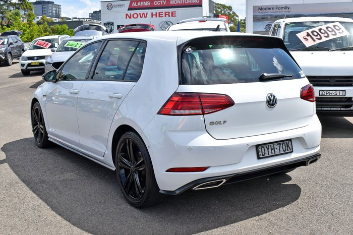 2018 Volkswagen Golf 110TSI Highline 7.5 MY18 Pure White