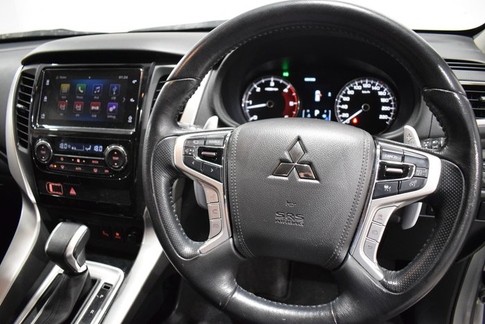 2017 Mitsubishi Pajero Sport Exceed QE MY17 4X4 Dual Range Sterling Silver
