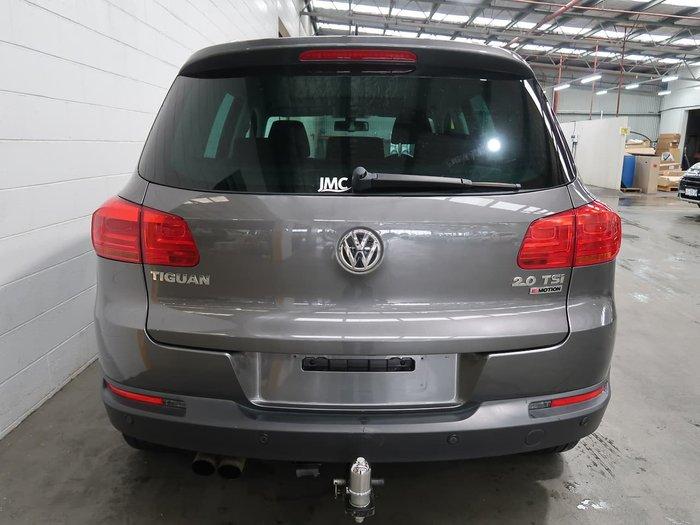 2016 Volkswagen Tiguan 132TSI 5N MY16 Four Wheel Drive Grey