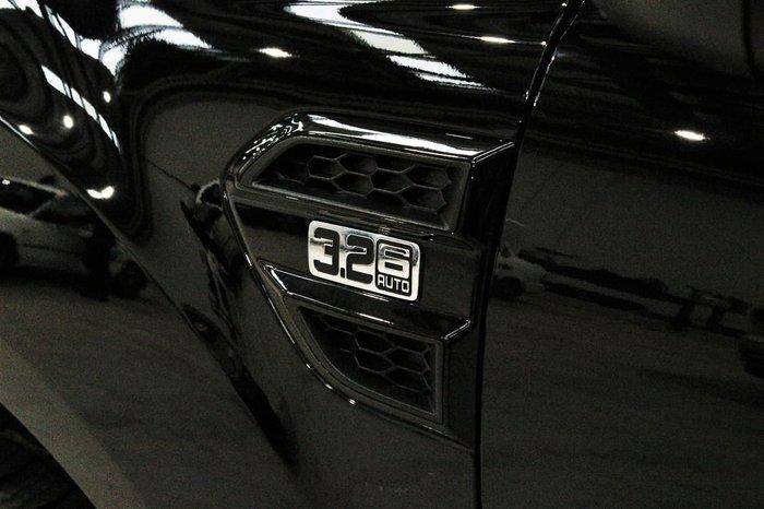 2017 Ford Ranger FX4 PX MkII MY18 4X4 Dual Range Black
