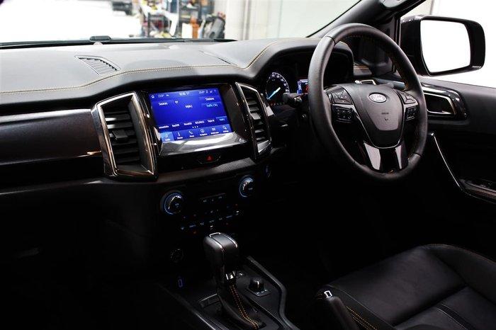 2020 Ford Ranger Wildtrak PX MkIII MY20.75 4X4 Dual Range Black