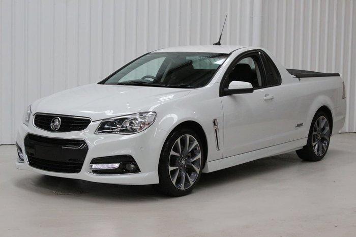 2015 Holden Ute SS VF MY15 White