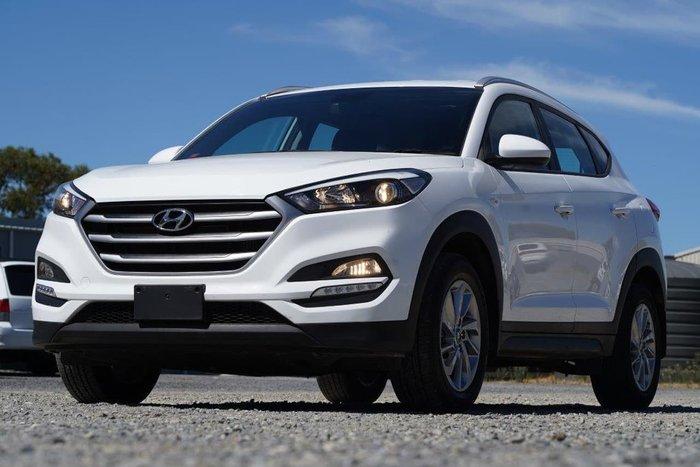 2017 Hyundai Tucson Active TL2 MY18 AWD White